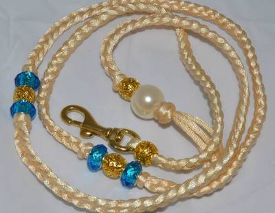 Decorated leash gold