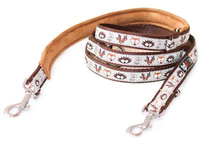 Leash White Fox