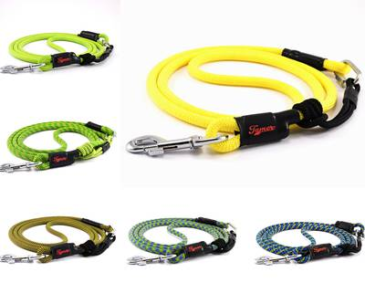 Adjustable dog leashes