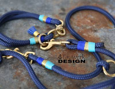 Luxury dog collar and leash