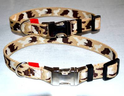 Camouflage collars