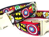 Dog collars superheros