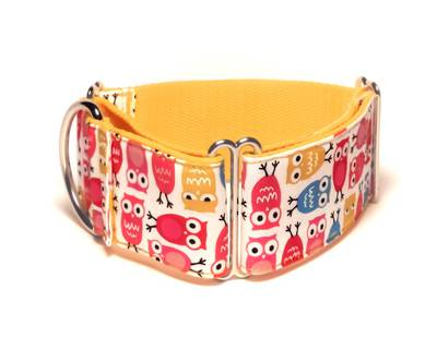 Martingale collar owl