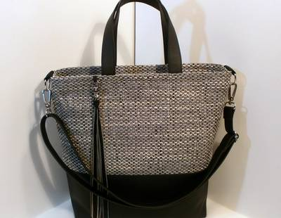 Ladies handbag grey