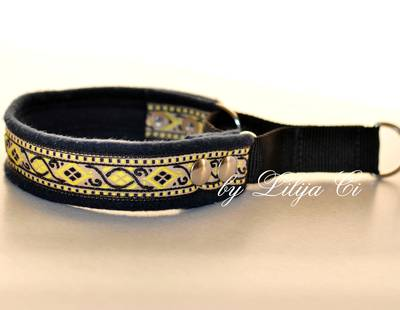 Dog collar dark navy