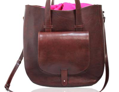 Ladies handbag brown