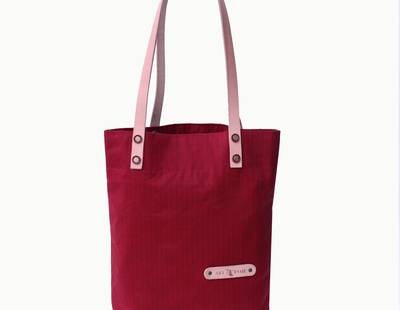 Ladies handbag red