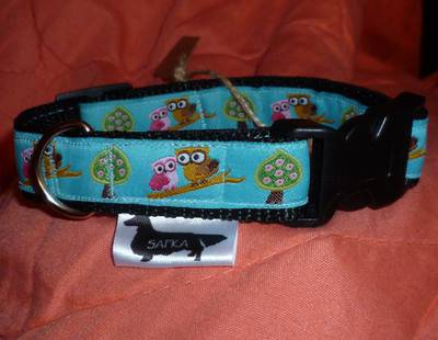 Dog collar owls