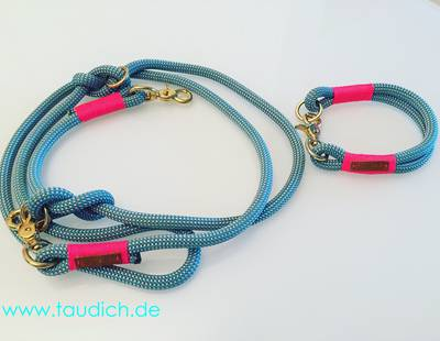 Collar and leash Taudich