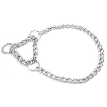 Single chain collar with martingale