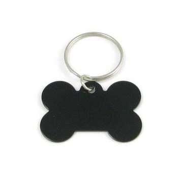 Aluminum Bone-Shaped Pet ID Tag
