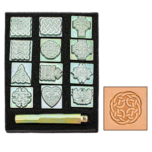 Celtic 3 D Stamp Set With Handle