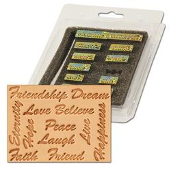 Inspirational Word Stamp Set
