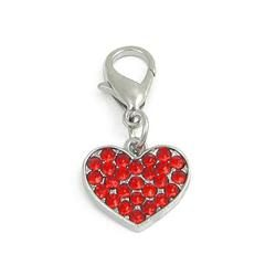 Charm Heart Red