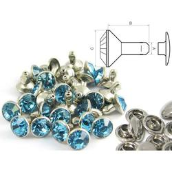 Chaton Rivet Blue - closed (100 pcs)