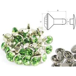 Chaton Rivet Green - closed (100 pcs)