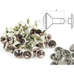 Rivet strass rose antique - fermé (100 pcs)