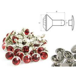 Chaton Rivet Red - closed (100 pcs)
