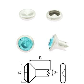 Chaton Rivet Light Blue - self tapping