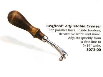 Craftool  Adjustable Creaser