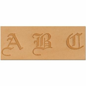 Craftool Old English Alphabet Set