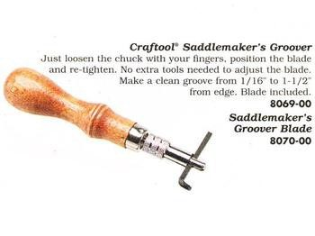 Craftool Saddlemaker´s Stitching Groover