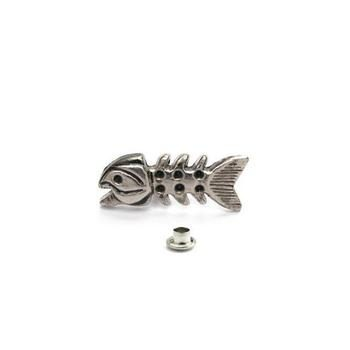Decorative Rivet Fishbone