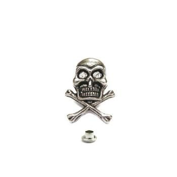 Decorative Rivet Skull