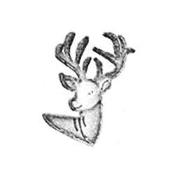 Deer Leather stamps 3-D mini