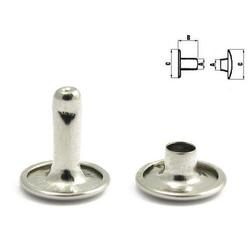Double cap rivet