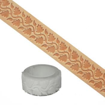 Embossing roll (Delrin) - Floral motif