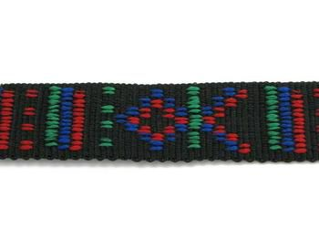 Embroidered Webbing - Indian