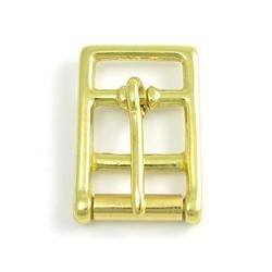 Brass Flat Girth Buckle