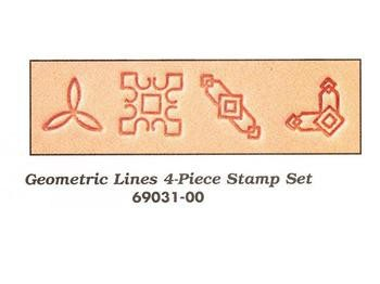 Geometric Lines Stamp set