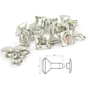 Gracia square Chaton Rivet (50 pcs)