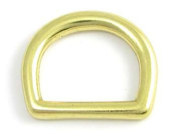 Heavy Solid brass D ring