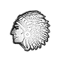 Indian Chief Leather stamps  3-D Mini