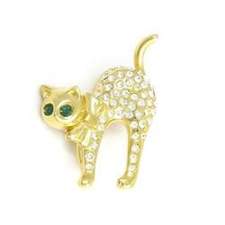 Pet brooch - Cat