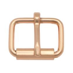 Roller buckle, Rose gold