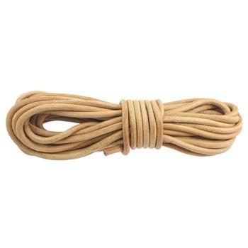 Cuir rond 6mm - Natural
