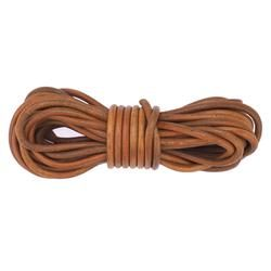 Rundleder 7mm - Brown