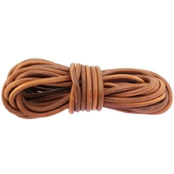 Cuir rond 8mm - Brown