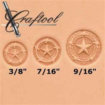 Craftool Star, Rope & Barbed Wire 3-pc Stamp Set