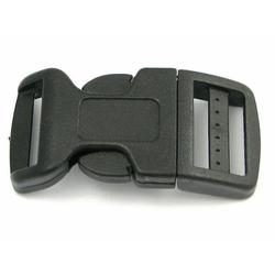 Side Release Buckle 20mm, Contoured