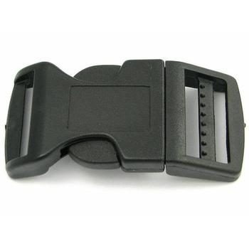 Side Release Buckle 25 mm, Contoured