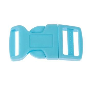 Side Release Buckle 20mm, Contoured Blue