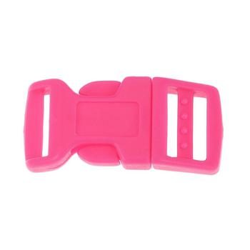 Side Release Buckle 17mm, Contoured Pink