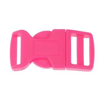 Side Release Buckle 20mm, Contoured PInk