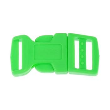 Side Release Buckle 17mm, Contoured Green