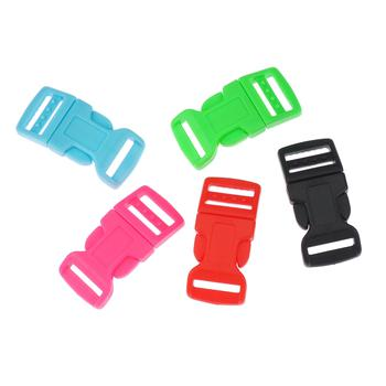 Side Release Buckle 17mm, Contoured Mix